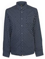 Pretty Green Men's Irwin Polka Dot Shirt