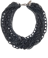 Cara Accessories Rocker Chain Necklace