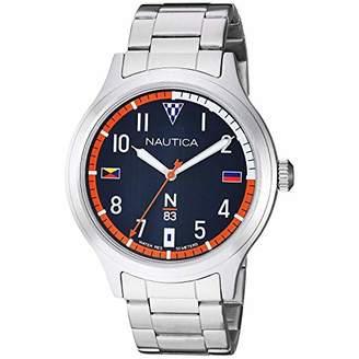 Nautica N83 Men's NAPCFS908 Crissy Field Stainless Steel Bracelet Watch