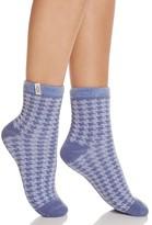 UGG Houndstooth Fleece-Lined Socks