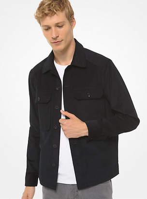 Michael Kors Corduroy Utility Shirt Jacket