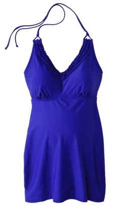 Liz Lange for Target® Maternity Halter Tankini Swim Top - Assorted Colors
