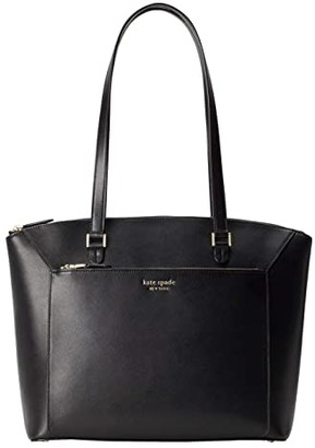 Kate Spade Louise Large Tote (Black) Handbags