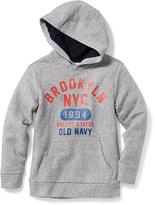Old Navy Graphic Pullover Fleece Hoodie for Boys