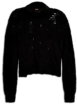 Free People Seasons Change Cropped Sweater