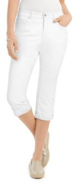 Style&Co. Style & Co Curvy Capri, Created for Macy's