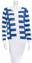 Sandro Long Sleeve Striped Sweater