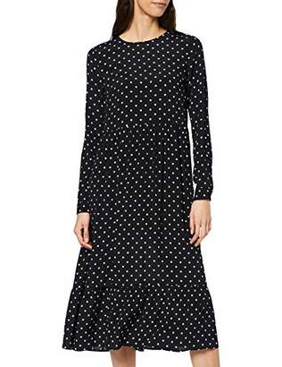 Warehouse Women's Spot Tiered Midi Dress Casual