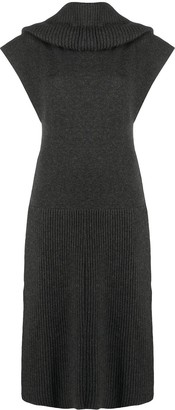 Kenzo High Neck Knitted Dress