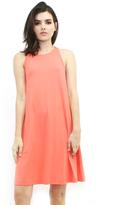Susana Monaco Rosalind Mini Dress in Pink Grapefruit