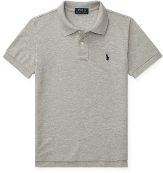 Ralph Lauren Custom Fit Cotton Mesh Polo