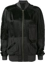 Haider Ackermann bomber jacket - women - Cotton/Rayon - XS