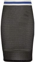 River Island Girls black and white tube skirt