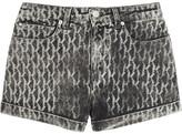 Karl Lagerfeld Steffie printed stretch-denim shorts