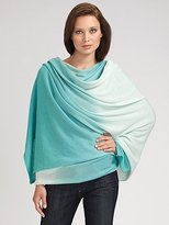 White and Warren Ombre Cashmere Wrap
