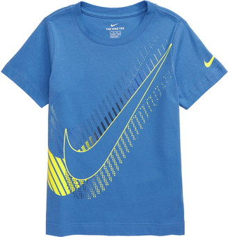 Nike Oversize Stacked Swoosh Graphic Tee