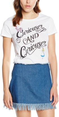 Disney Women's Alice in Wonderland Curioser Tops