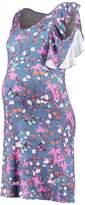 Queen Mum Jersey dress blue
