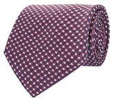 Corneliani Grid Silk Tie