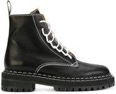 Proenza Schouler Lace up boots