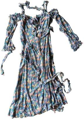 R 13 Blue Silk Dresses