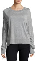 Dkny Pure Ribbed Heathered Pullover