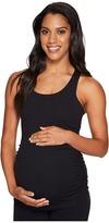 Beyond Yoga Maternity Long Racerback Cami Women's Sleeveless