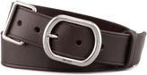 Prada Metal Keeper Leather Belt