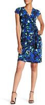 Maggy London Printed MJ Wrap Dress