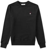 Ami Crew Multicolor Small Logo Sweatshirt