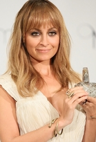 House Of Harlow Jewelry Brass Snake Cuff with Jet Pave Eyes as Seen On Nicole Richie