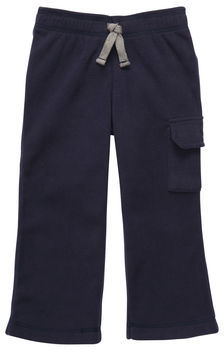 Carter's Pull-On Microfleece Cargo Pant
