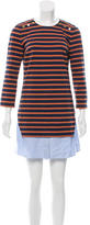 Veronica Beard Striped Layered Dress