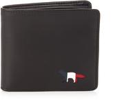 MAISON KITSUNÉ Leather bi-fold wallet