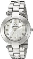 Cabochon Women's 16088-22 Cairo Analog Display Quartz Silver Watch