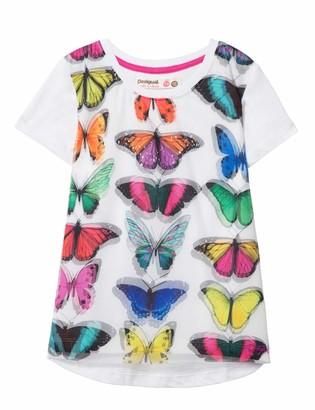 Desigual Girl's Knit T-Shirt Short Sleeve (ts_Halifax)