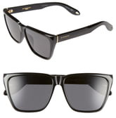 Givenchy 58mm Flat Top Sunglasses