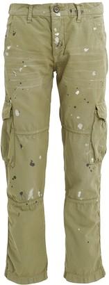 NSF Basquiat Paint Splatter Cargo Pants