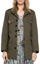 Zadig & Voltaire Kalena Military-Style Jacket