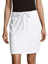 James Perse Drawstring Vintage Cotton Skirt