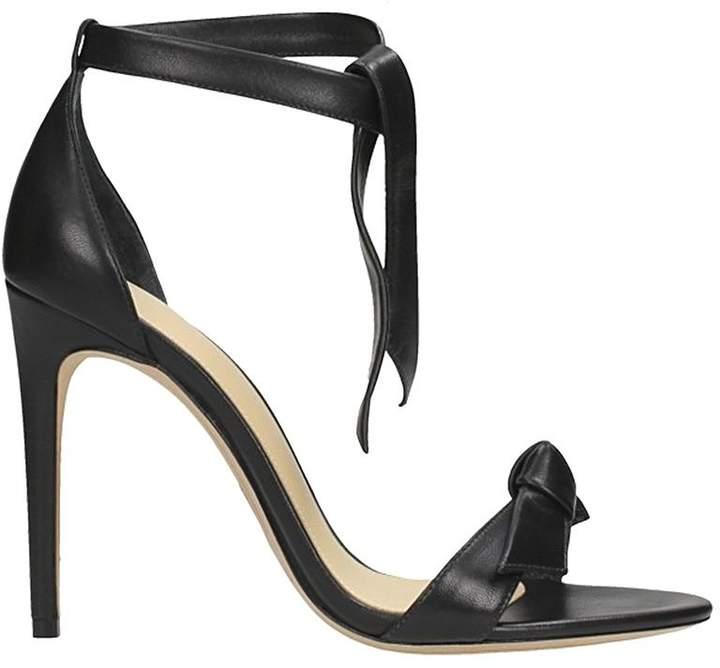 Alexandre Birman Black Leather Sandals