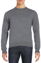 Saks Fifth Avenue Donegal Crewneck Cashmere Sweater