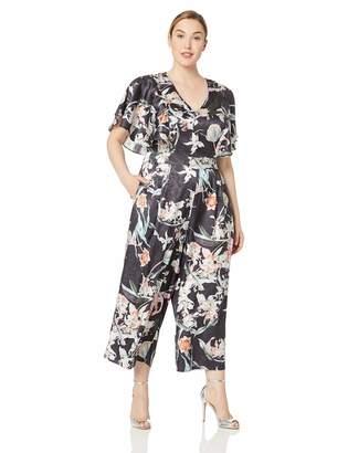 City Chic Women's Apparel Women's Plus Size Jumpsuit Midnight FL