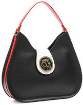 Braccialini Federica Tonal Leather Hobo Bag