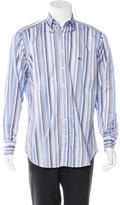 Etro Embroidered Striped Shirt