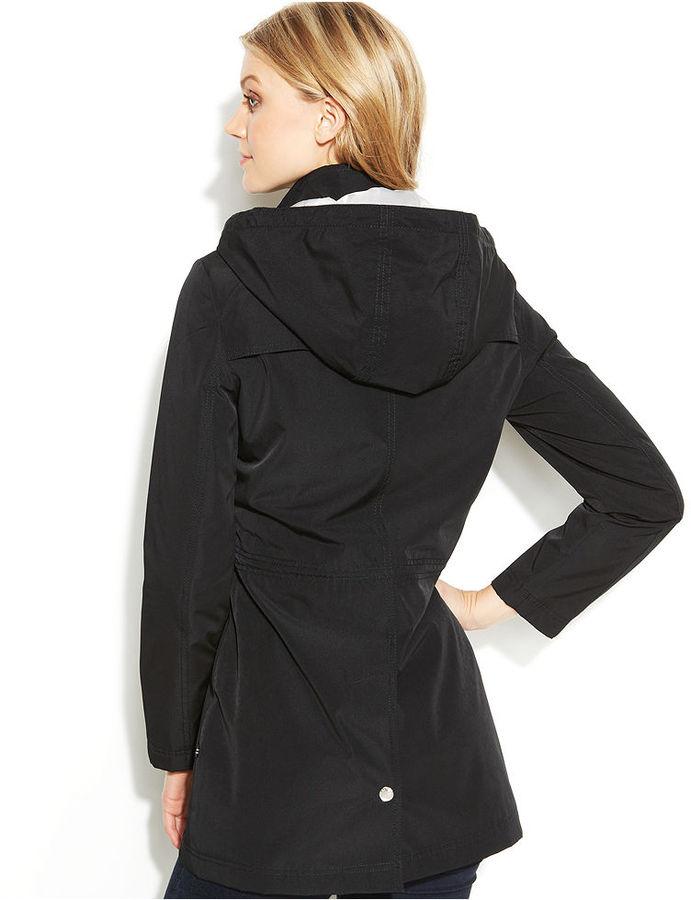 Nautica Petite Jacket, Hooded Anorak