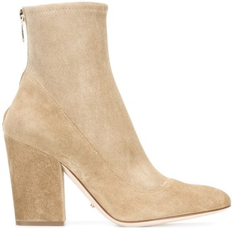 Sergio Rossi sock-style zipped boots