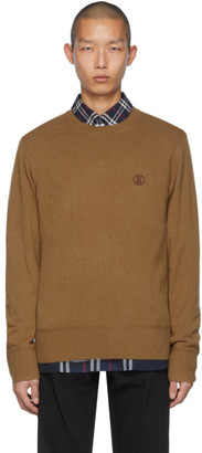 Burberry Brown Cashmere Hudson Sweater