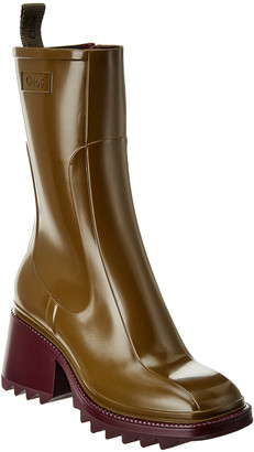 Chloé Betty Rubber Rain Boot