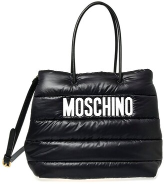 Moschino Puffy Nylon Tote